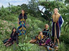 Vogue US Setembro 2014 | Raquel Zimmermann, Anna Ewers + Mais por Annie Leibovitz [Updated]