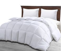 Queen Comforter Duvet Insert White - Hypoallergenic, Plush Siliconized Fiberfill, Box Stitched, Down Alternative Comforter, Protects Against Dust Mites and Allergens - by Utopia Bedroom Home Decor * Special offer just for you. : Bedroom Home Decor Fluffy Comforter, Down Comforter, King Comforter, Comforter Sets, Nautical Bedding, Unique Bedding, Coastal Bedding, Affordable Bedding, Shopping