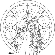 The sneak peek for the next Gift of The Day tomorrow. Do you like this one? #mandala #lady ••••••••••• Don't forget to check it out tomorrow and show us your creative ideas, color with Color Therapy: http://www.apple.co/1Mgt7E5 ••••••••••• #happycoloring #giftoftheday #gotd #colortherapyapp #coloring #adultcoloringbook #adultcolouringbook #colorfy #colorfyapp #recolor #recolorapp #coloring #coloringmasterpiece #coloringbook #coloringforadults