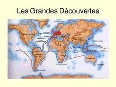 Carte des grandes découvertes utilisée comme plan de tables.  Les tables sont aux noms des pays découverts.