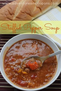 Looking for a new way to make the stuffed peppers that you love? This stuffed pepper soup is filling, easy to make and is filled with flavor that will having them begging for more!