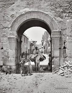 Bab esh-Sharki   Damascus, Syria.   1900-1920   Documentarist   Historic Photo Archive.