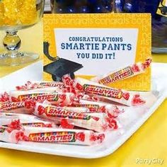 Need a super easy, super quick graduation party idea.  Here ya go.  Congrats to all the grads. Images