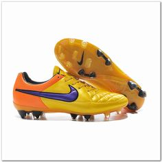 release date: 1cb95 02973 2015 Nike Tiempo V FG Leather Best Soccer Cleats Fluorescent Yellow  66.88  Zapatos De Fútbol Para