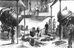 The Bessemer Process allowed American steel makers to produce stronger steel faster.  This invention was the inexpensive industrial process for the mass-production of steel from molten pig iron prior to the open hearth furnace. The key principle is removal of impurities from the iron by oxidation with air being blown through the molten iron.