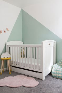 Amelia's Cool and Refined Nursery Room
