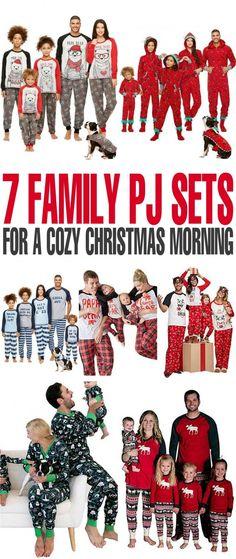 7 Family Pyjama Sets