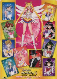 All Senshi - Sailor Moon Stars