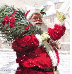 Leading Illustration & Publishing Agency based in London, New York & Marbella. Christmas Scenes, Christmas Art, Christmas Wreaths, Christmas Decorations, Xmas, Christmas Ornaments, Holiday Decor, Winter Magic, Winter Art