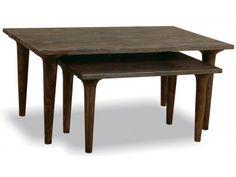 Mono Nest of 2 Coffee Tables Blackwash  £272.00