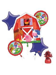 Farm Animal Party Balloon Kit
