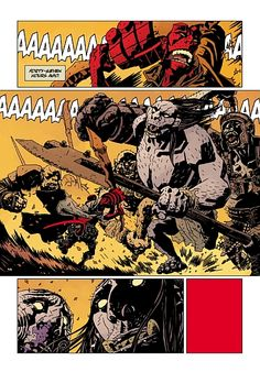 Just Hellboy being the greatest