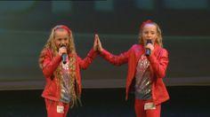 Double me (spiegelbeeld) - Junior Songfestival. Mijn dochter Jane is hier dol op.