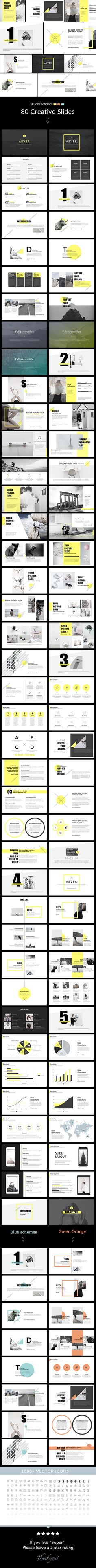 AEVER - PowerPoint Presentation Template. Download…