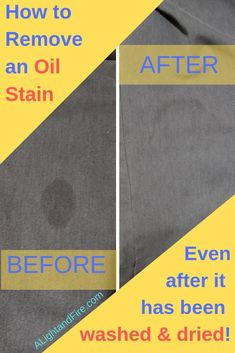 Healthy eating getting olive oil stains on your clothes? or Found an oil stain after you washed and dried the laundry? Let's save the clothes with this very easy, probably free, recipe on how to get oil stains out of clothes, even after washing and drying them! #laundryhacks #stainhack #oliveoil #oilstain #ihatelaundrystains #howtoremove #lifehack #bakingsoda #WD40