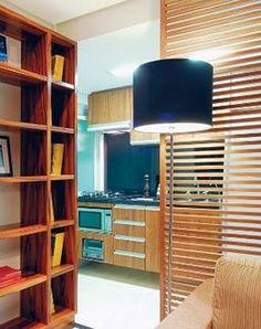 divisória de ambientes em madeira