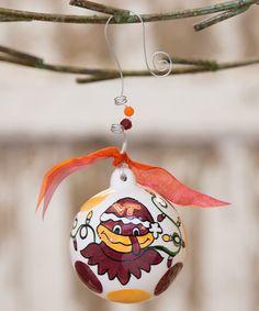 Virginia Tech Hokies Ornament #zulily #zulilyfinds