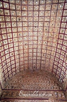 Faro, Portugal ossuary chapel The ceiling of the Capela dos Ossos in Faro is magnificent.