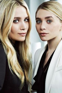 Mary Kate and Ashley..don't even care how creepy they have become love them still