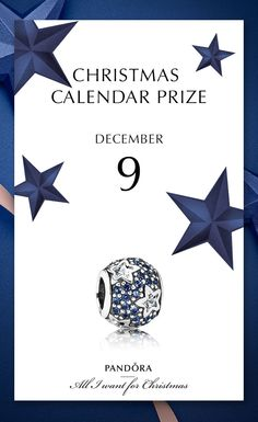 Get a bit of inspiration from above with this starry charm - the prize 9th of December #PANDORAchristmascontest #PANDORAcharm