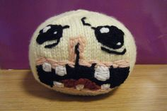 Monstro Binding of Isaac Knit Plush by StuffedStuffBySage on Etsy