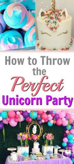 Unicorn Birthday Decoration Diy