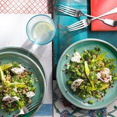 Ottolenghi's recipe for broad bean and freekeh salad. For the full recipe and more, click the picture or visit RedOnline.co.uk