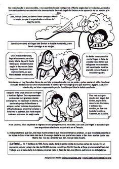 La Catequesis (El blog de Sandra): Recursos Catequesis San José Obrero - 1 de Mayo