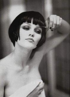 Vanessa Paradis photographed by Ellen von Unwerth.