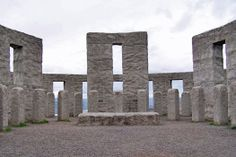9 Fake Stonehenge Sites (Almost) as Cool as the Original: Maryhill Stonehenge, Washington. Photo by Bruce Fingerhood