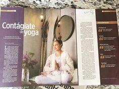 """ॐ gracias Suplemento """"Salud y Bienestar"""" periódico REFORMA sept 2015 ...un poquito del libro """"YOGA SABIDURÍA ETERNA"""" entrevista by Paloma Villanueva  fabulosa periodista! [ Laura Roldan press agent #edicionesb ] #yoga #yogamexico #yogabook #yogasabiduriaeterna #luvaom [yoga outfit by @uranta ] [photo shoot location at the beautiful  @chayabnb ] #periodicoreforma by luva_om"""