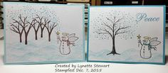 Holmade Laura: Christmas Card Stampfest at Lynette's December 7