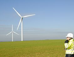 Green Job Spotlight: With an average salary of over $108k, Wind Energy Operations Managers make sure the wind farm stays running. Renewable Energy Jobs, Green Jobs, Job Career, Farm Stay, Operations Management, Wind Turbine, Spotlight, Sustainability, Profile