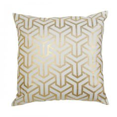 Caitlin Wilson Textiles: GOLD HONG KONG PILLOW