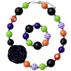 Witches Brew Chunky Jewelry Set