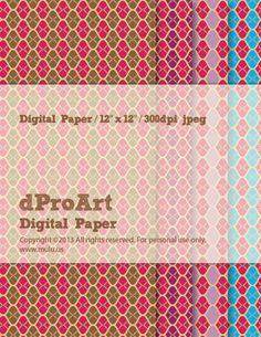 Digital Japanese Paper 03, Instant JPEGs Download.