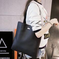 Barato 2016 Nova bolsa Feminina mulheres grandes sacos casual messenger tote balde bolsas femininas de Couro bolsa de ombro Fêmea Frete Grátis, Compro Qualidade Bolsas de Ombro diretamente de fornecedores da China: 2016 Nova bolsa Feminina mulheres grandes sacos casual messenger tote balde bolsas femininas de Couro bolsa de ombro Fê