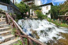 Macedonia, Outdoor Furniture, Outdoor Decor, Greece, Waterfall, Greece Country, Waterfalls, Fruit Salads, Backyard Furniture