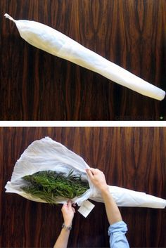 """Nothing Says """"I Love You"""" More Than A Cannabis Bouquet Wrapped Like A Joint"""