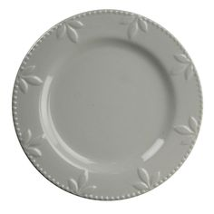Sorrento Gray Set of 4 Dinner Plates by Signature Housewares #SignatureHousewares