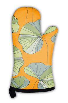 Amazon.com: Gear New Oven Mitt, Waterlily Flower Tropical Pattern, GN11774: Kitchen & Dining