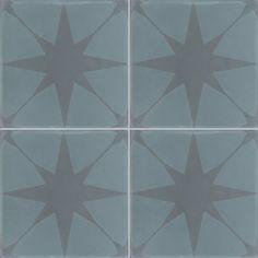 Carreaux de ciment - décors 4 carreaux - Carreau VEGA 39.40 - Couleurs & Matières