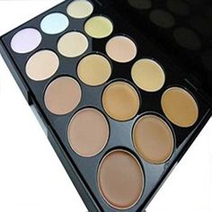 SpritechTM Professional Makeup 15 Colors Concealer Palette for Home Use and Photographic Studio -- You can get more details by clicking on the image.