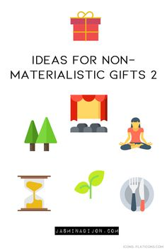 I started gifting non-materialistic presents a few years back. What seemed weird to me at first, became a common habit of mine during the holidays. Earn Money From Home, Make Money Online, How To Make Money, How To Become, Materialistic, Simple Living, Weird, Minimal, Presents
