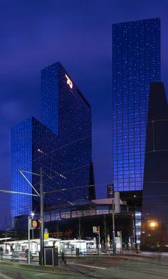 Nationale Nederlanden, Rotterdam; architect Abe Bonnema