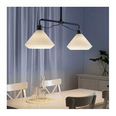 foto aluminium pendant lamp for the kitchen over the breakfast