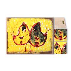 fatáblán, akasztóval cm méretbenPrint on wood Art, Painting