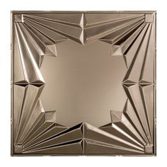 x 2 ft. Vinyl Lay-In Ceiling Tile in Brushed - The Home Depot Fasade Art Deco - 2 ft. x 2 ft. Lay-in Ceiling Tile in Brushed - The Home Depot Ceiling Grid, Tin Ceiling Tiles, Ceiling Panels, Art Deco Stil, Art Deco Home, Art Deco Chair, Stencils, Estilo Art Deco, Ceiling Texture
