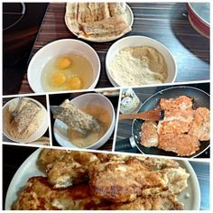 Ryba w panierce migladowej - Gluten Free Mashed Potatoes, French Toast, Paleo, Gluten, Breakfast, Ethnic Recipes, Free, Whipped Potatoes, Morning Coffee