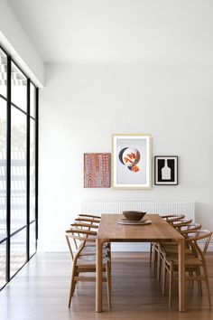 Dining Room Design, Dining Room Table, Dining Room Modern, Mid Century Dining Table, Dining Sets, Dining Chairs, Dining Room Inspiration, Interior Inspiration, Estilo Interior